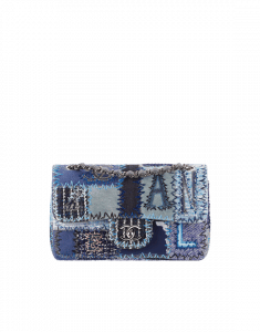 Chanel Patchwork Denim Flap Bag - Spring 2015 Act 1