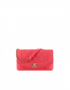 Chanel Pink Jersey Vintage Chic Flap Small Bag - Spring 2015 Act 1