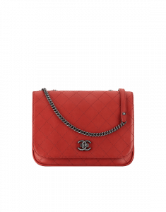 Chanel Red Messenger Bag - Spring 2015 Act 1