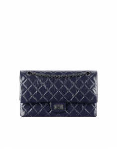 Chanel Violet 2.55 Reissue 226 Bag - Spring 2015 Act 1