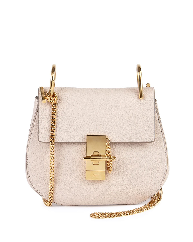 Desert Chloe suede/python faye medium bag sale new photo