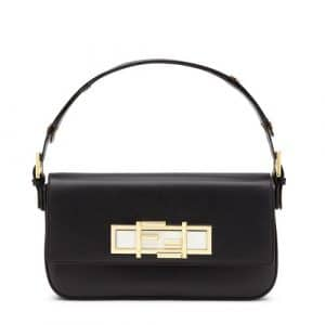 Fendi Black 3Baguette Bag