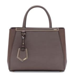 Fendi Brown 2Jours Mini Bag