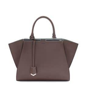 Fendi Brown 3Jours Mini Bag