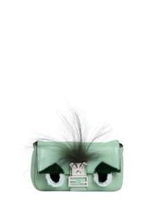 Fendi Green Monster Baguette Micro Bag