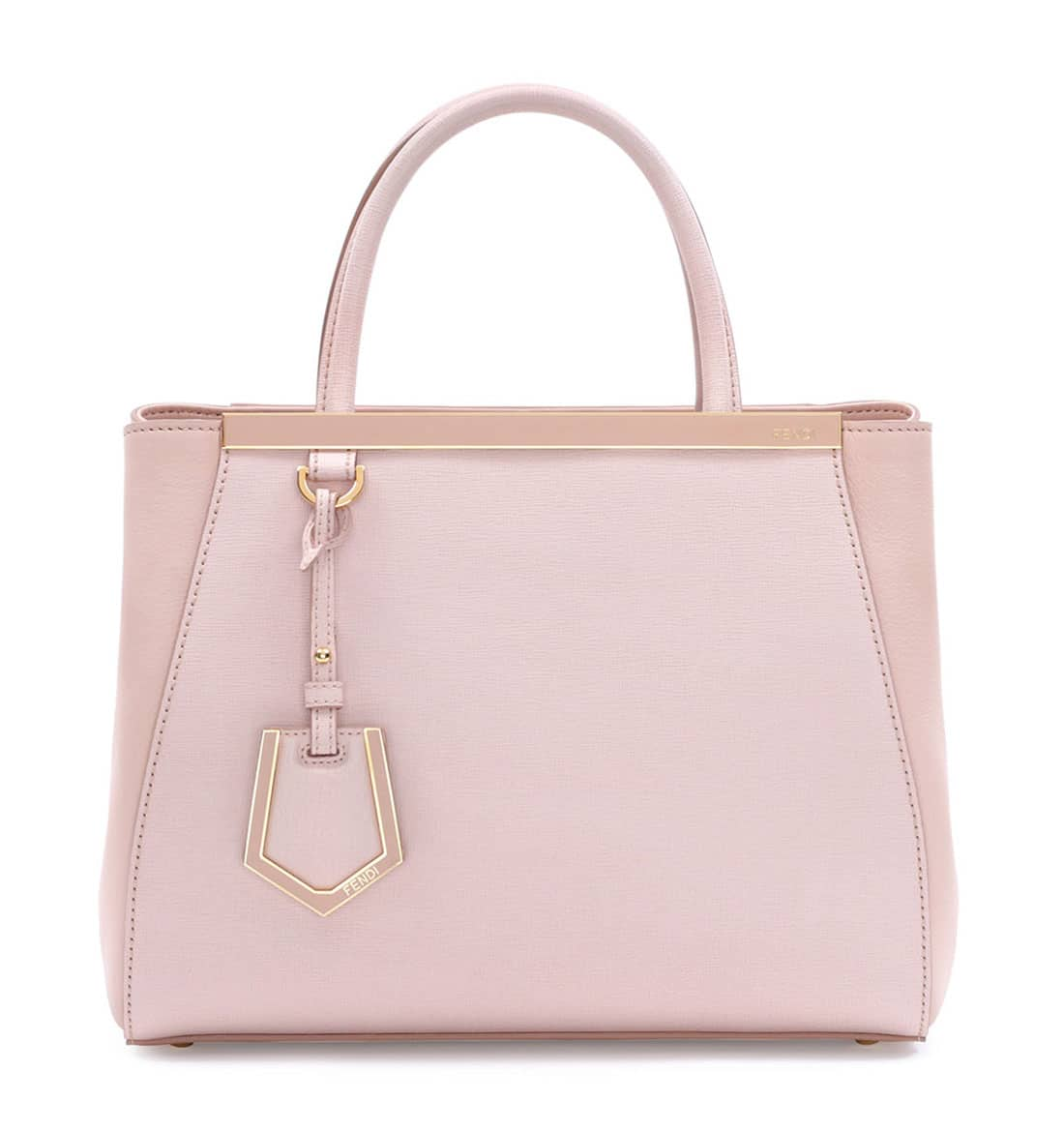 Fendi spring summer 2015 runway bag collection spotted fashion - Fendi Light Pink 2jours Mini Bag