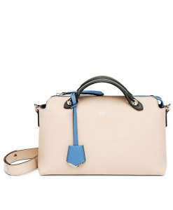 Fendi Nude/Light Blue By The Way Small Bag