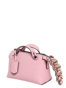 Fendi Pink with Crystal Tail By The Way Mini Bag