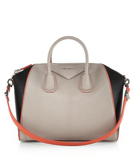Givenchy Beige/Black/Orange Antigona Bag
