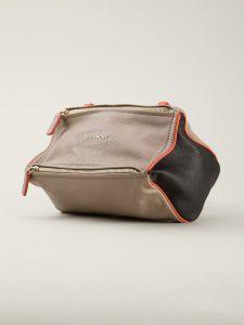 Givenchy Beige/Black/Orange Pandora Small Bag
