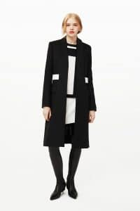 Givenchy Black Coat and Boots - Pre-Fall 2015