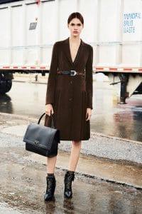 Givenchy Black Studded Shark Bag - Pre-Fall 2015