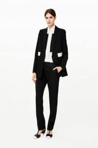 Givenchy Black Suit - Pre-Fall 2015