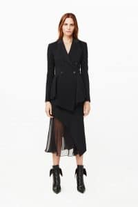 Givenchy Black Tailored Coat - Pre-Fall 2015