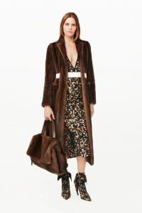 Givenchy Brown Fur Pandora Pure Satchel Bag - Pre-Fall 2015