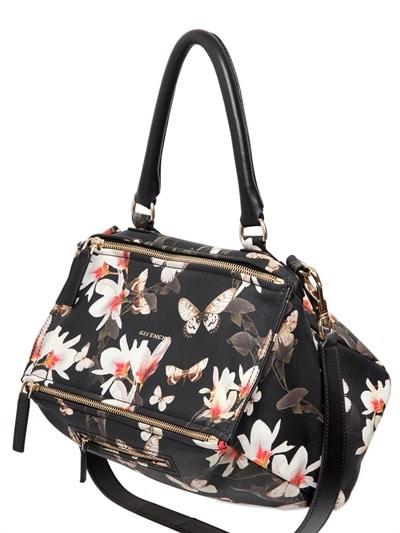 Givenchy Floral Print Pandora Bag - Cruise 2015