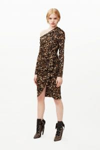 Givenchy Multicolor Floral Print Dress - Pre-Fall 2015