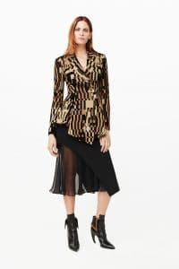 Givenchy Multicolor Geometric Print Blazer - Pre-Fall 2015