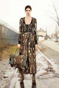 Givenchy Multicolor Geometric Print Shark Bag - Pre-Fall 2015