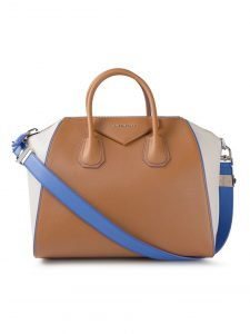 Givenchy Tan/Purple/Grey Antigona Bag