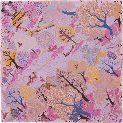 Hermes spring summer 2015 scarves and price increase for Concevoir un jardin anglais