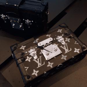 Louis Vuitton Black Epi and Black:White Monogram Canvas Petite Malle Bags - Spring 2015