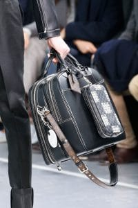Louis Vuitton Black Weekender/Damier Graphite Nemeth Pouch Bags 2 - Fall 2015