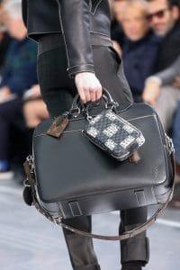 Louis Vuitton Black Weekender/Damier Graphite Nemeth Pouch Bags - Fall 2015