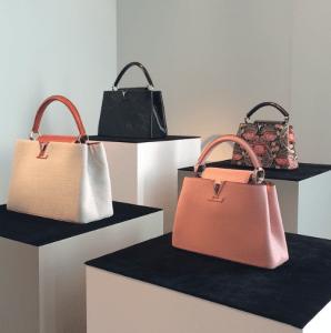 Louis Vuitton Capucines Tote Bags - Spring 2015