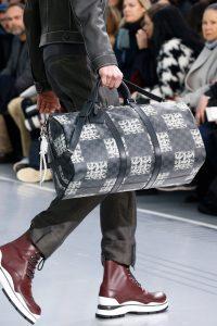 Louis Vuitton Damier Graphite Nemeth Keepall Bag - Fall 2015