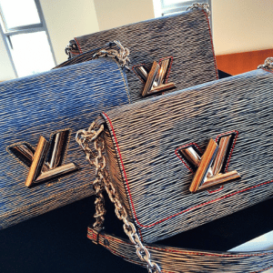 Louis Vuitton Epi Denim Twist Bags - Spring 2015