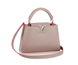 Louis Vuitton Galet Litchi Capuciness BB Bag