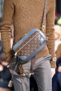 Louis Vuitton Monogram Canvas with Blue Trim Small Messenger Bag - Fall 2015