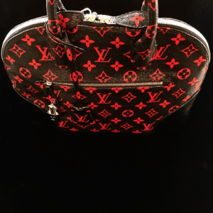 Louis Vuitton Monogram Rouge/Noir Alma Bag - Spring 2015