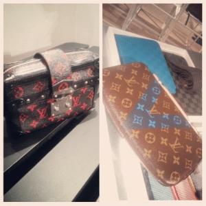 Louis Vuitton Monogram Rouge/Noir Petite Malle Souple Bag : Monogram Canvas Wallet - Spring 2015
