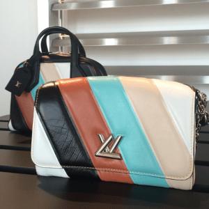 Louis Vuitton Multicolor Stripes Dora Souple:Twist Bags - Spring 2015