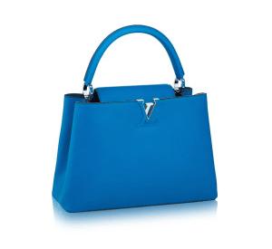 Louis Vuitton Outremer Capucines MM Bag