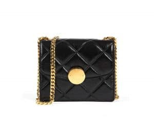 Marc Jacobs Black Quilted Mini Trouble Bag
