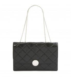 Marc Jacobs Black Quilted Trouble Big Bag