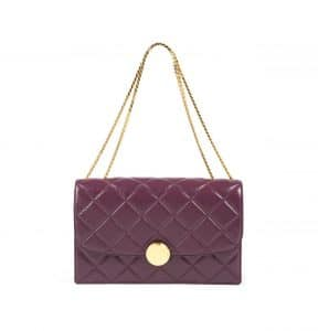 Marc Jacobs Grape Quilted Trouble Big Bag