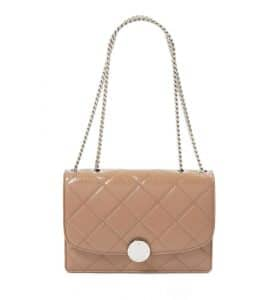 Marc Jacobs Nude Quilted Trouble Bag