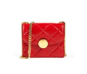 Marc Jacobs Red Quilted Mini Trouble Bag