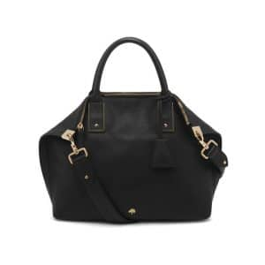 Mulberry Black Alice Zipped Tote Small Bag
