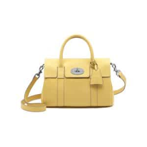 Mulberry Camomile Bayswater Satchel Small Bag