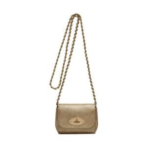 Mulberry Metallic Lily Mini Bag