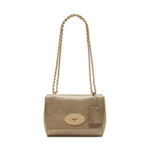 Mulberry Metallic Lily Small Bag