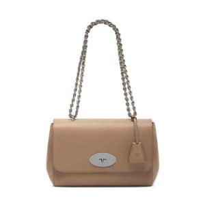 Mulberry Mushroom Grey Classic Grain Lily Medium Bag