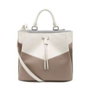 Mulberry Mushroom/Cream Kensington Bag