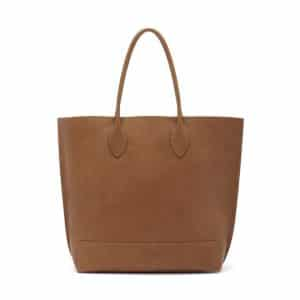 Mulberry Oak Natural Leather Blossom Tote Bag