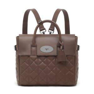 Mulberry Taupe Quilted Cara Delevingne Bag